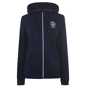 Requisite Womens Zip Hoody Ladies Hooded Hoodie Full Zip Jacket Top