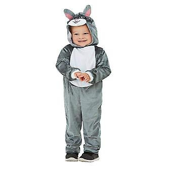 Toddler Bunny Costume Toddler Grey