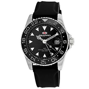 Seapro Men-apos;s Black Dial Watch - SP0121