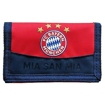 FC Bayern Munich Crest Tri-Fold Wallet