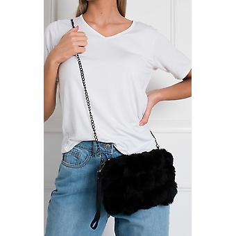 IKRUSH Womens Rylan Cross Body Pom Pom Handbag