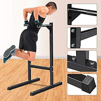 Tauchstation Dip Stand Pull Push Up Parallel Bar Fitness Übung Workout Home Gym 600lbs Schwarz
