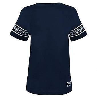 EA7 Boys Emporio Armani Boy's Navy Blue T-Shirt