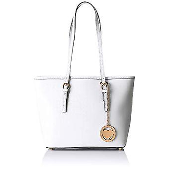Chicca Bags Cbc3303tar White Women's Shoulder bag 12x23x34 cm (W x H x L)