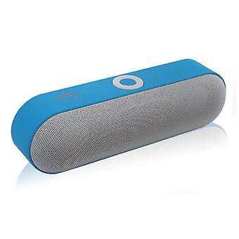 NBY NBY-18 Mini Wireless Soundbar Loudspeaker Wireless Speaker Box Bluetooth 3.0 Blue
