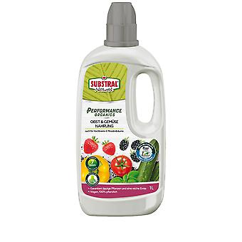 SUBSTRAL® ® Performance Organics Fruit & Vegetable Food, 1 litre