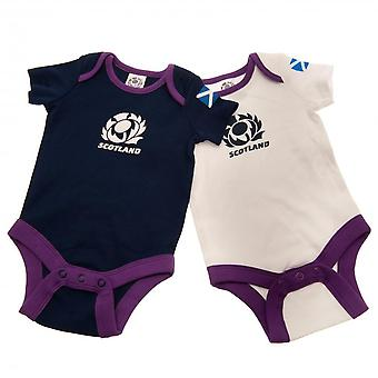 Scotland RU Baby Bodysuit (Pack Of 2)