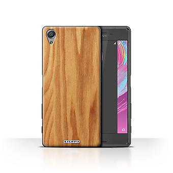 STUFF4 Case/Cover for Sony Xperia X Performance/Oak/Wood Grain Effect/Pattern