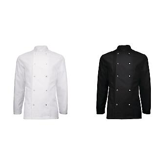 Alexandra Adults Unisex Long Sleeve Chefs Jacket