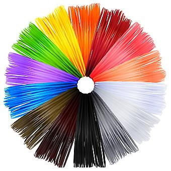 Filament 85.4 Meters Of 3d Printing Materials 1.75mm Abs In 14 Colors Each With 6.1m Length For 3d Pen Printing