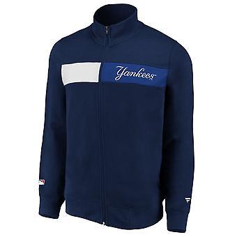 New York Yankees Iconic Past & Present Fleece Track Jacket