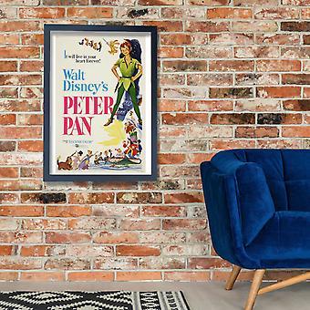 Walt Disney Peter Pan 1953 Poster Print Giclee