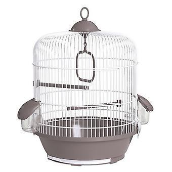 Voltrega jaula liittyvät paketit para Pajaros 716 Blanca/Gris (linnut, häkit ja lintuhuoneet, häkit)