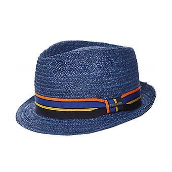 Stetson Raffia Straw Trilby Hat