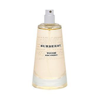 Burberry touch by burberry for women 3.3 oz eau de parfum spray (tester no cap)