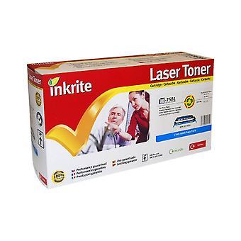 Inkrite Laser Toner Cartridge Compatible with HP Colour LaserJet 3800 Cyan