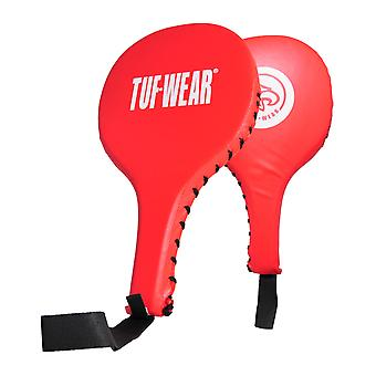 Tuf Wear PU Training Punch Paddles Red