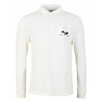 Kent And Curwen Stokes Rose Icon Rugby Polo Shirt