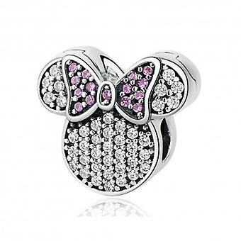 Sterling Silver Charm Minnie Mouse - 5343