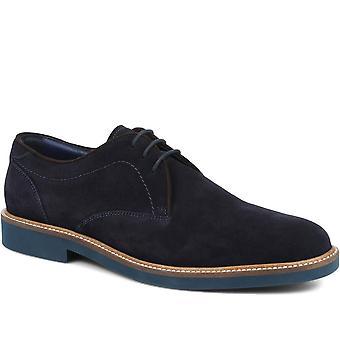 Jones Bootmaker Mens Dawood Suede Leather Derby Shoe