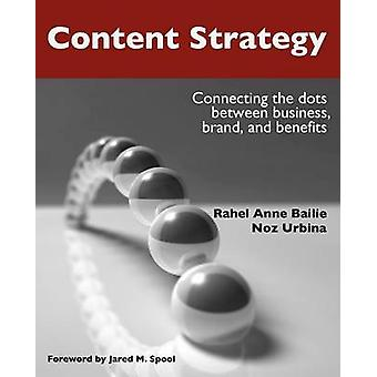 Content Strategy Connecting the Dots Between Business Brand and Benefits by Bailie & Rahel Anne