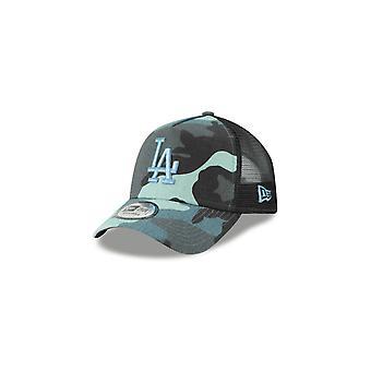 New Era Mlb Los Angeles Dodgers A Frame Essential Trucker Adjustable Cap