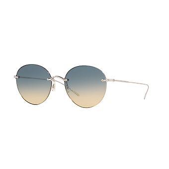 Oliver Peoples Coliena OV1264S 503679 Silver/Sunrise Gradient Sunglasses