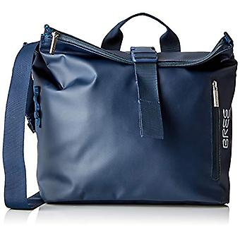 BREE Collection Punch 722 Blue Messenger S - Unisex Adult Blue (Blue) 12x36x33cm (B x H T) shoulder bags