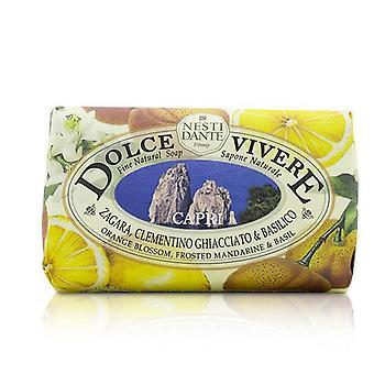 Nesti Dante Dolce Vivere Fine Natural Soap - Capri - Orange Blossom Frosted Mandarine & Basil - 250g/8.8oz