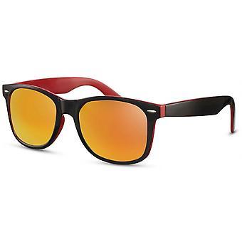 Sonnenbrillen Herren-Reisende schwarz-rot/orange (CWI2503)