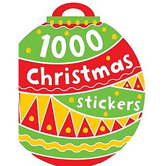 1000 Christmas Stickers - 9781782356325 Book