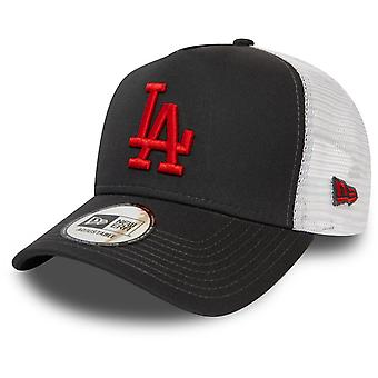 New Era Adjustable Trucker Cap - Los Angeles Dodgers graphit