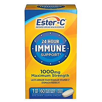 Ester c 1000 mg, 24 hours immune support, capsules, 60 ea