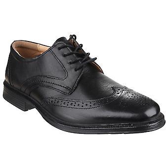Cotswold men's mickleton pizzo brogue scarpa nero 20300