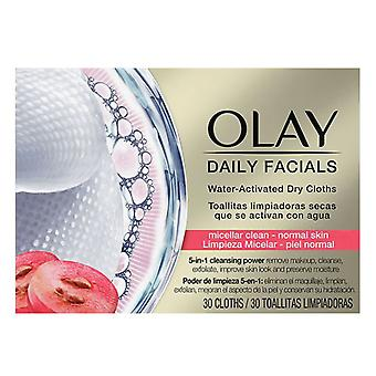 Make Up Remover Wipes Cleanse Daily Facials Micellar Olay (30 pcs) Normal skin