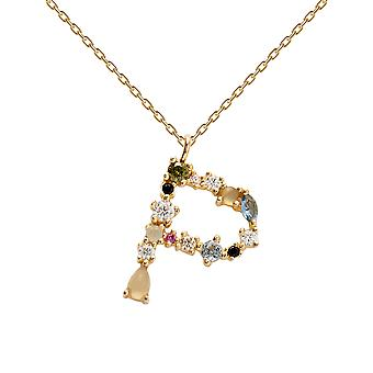 Pdpaola Women's Letter P Plated Necklace