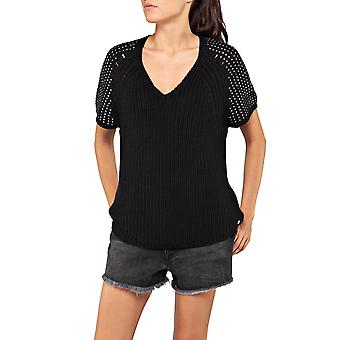 Replay Women's Strass Sleeves Sweater