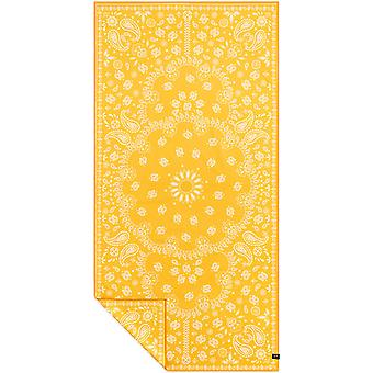 Slowtide Paisley Park Yellow Travel Beach Towel in  Yellow