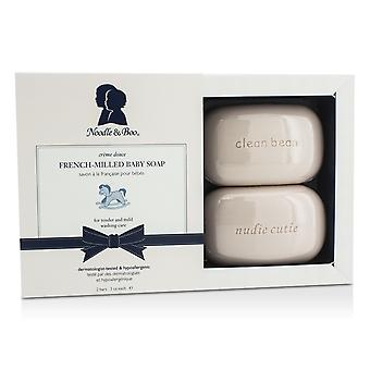French milled baby soap 2bars /3oz each