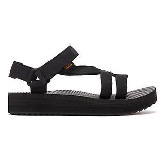 Teva Midform Arivaca Womens Black Sandals