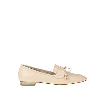 Anna Baiguera Ezgl238019 Damen's Rosa Leder Loafers