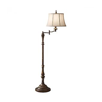 Gibson Articulated Floor Lamp, With Lampshade