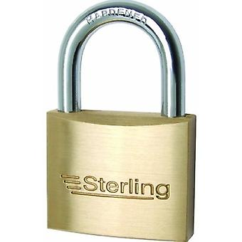 Sterling Mid Security Brass Padlock