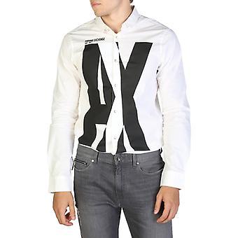 Man cotton long shirt t-shirt top ae04951