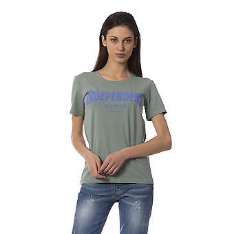 Frankie Morello Women's Green T-shirt