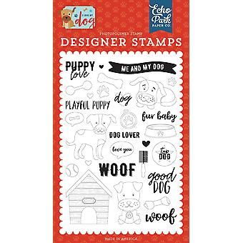Echo Park Puppy Love Clear Stamps