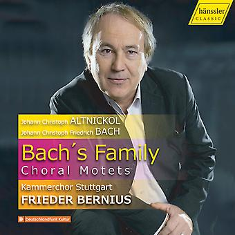 Bach's Family Choral Motets [CD] USA import