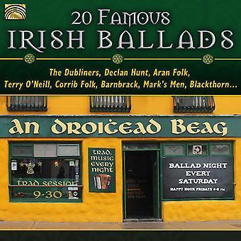 20 baladas irlandesas famosas - 20 baladas irlandesas famosas [CD] USA importar
