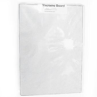 Macrame Board with Double Sided Graph Paper Grid - 29cm x 40cm