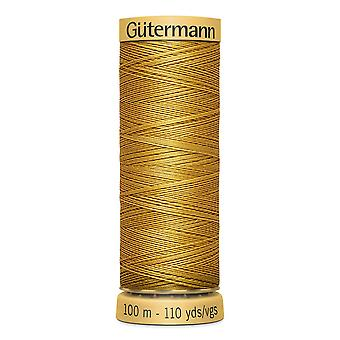 Gutermann 100% Natural Cotton Thread 100m Hand and Machine Colour Code  - 847